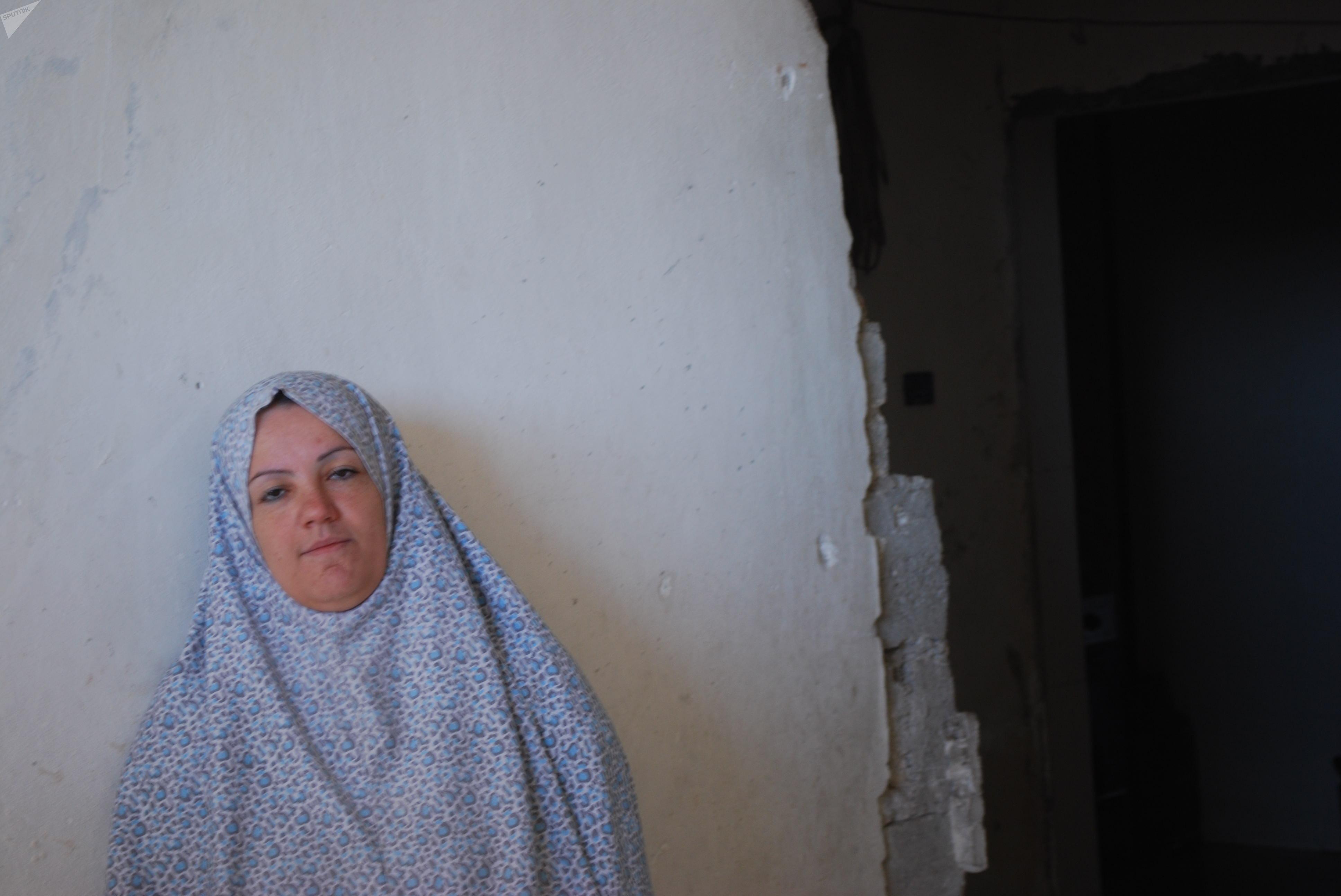 أم أحمد سيدة سورية