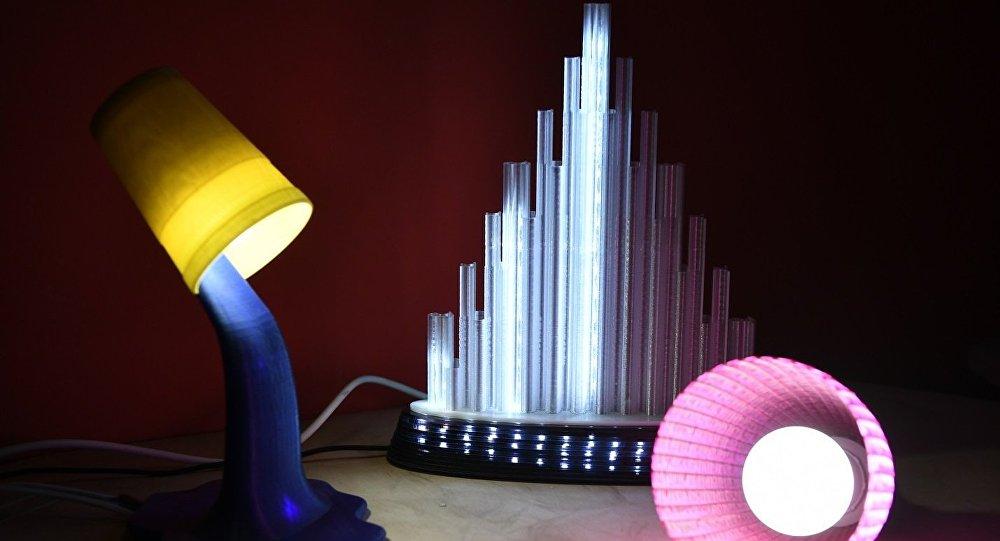 أدوات منزلية ناتجة عن طباعة ثلاثية الأبعاد