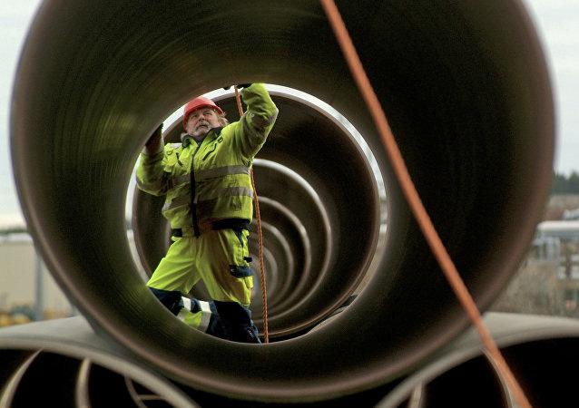 خط أنابيب الغاز في ألمانيا