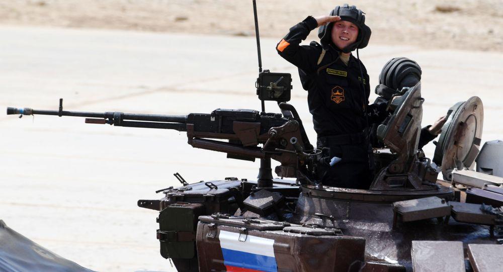 انطلاق الألعاب العسكرية الدولية أرميا-2017 في حقل ألابينو، بمقاطعة موسكو، روسيا