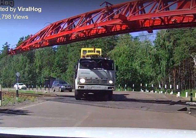 حادث شاحنة بروسيا