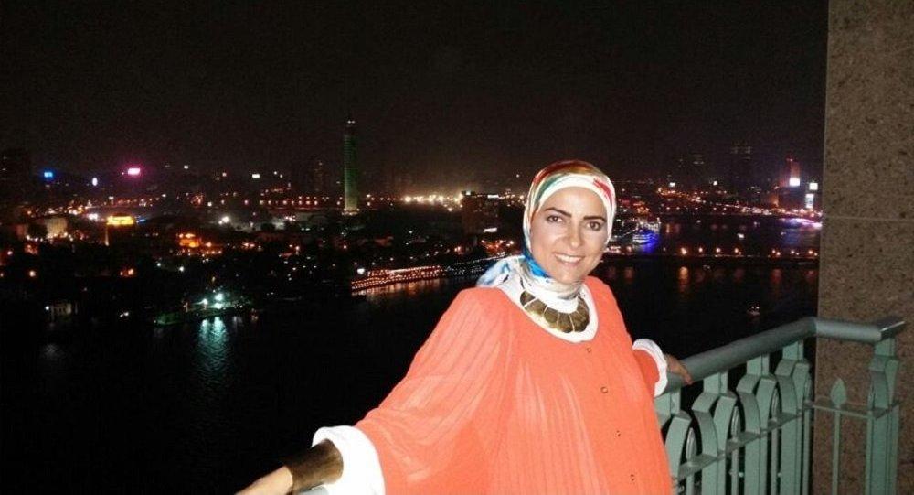 الإعلامية المصرية دعاء فاروق