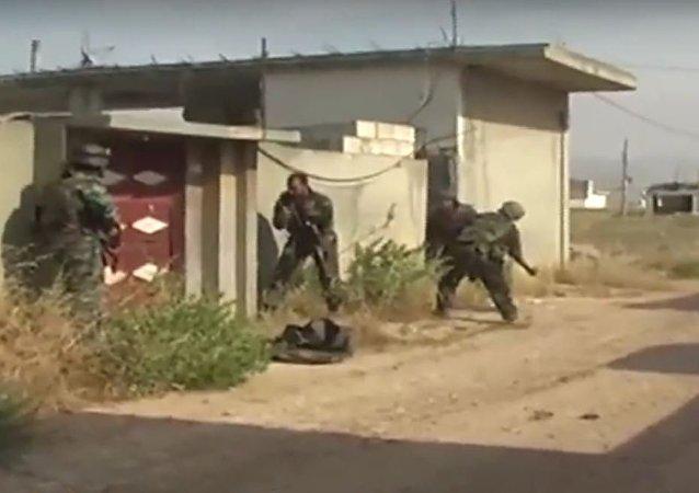 تدريبات الجيش السوري