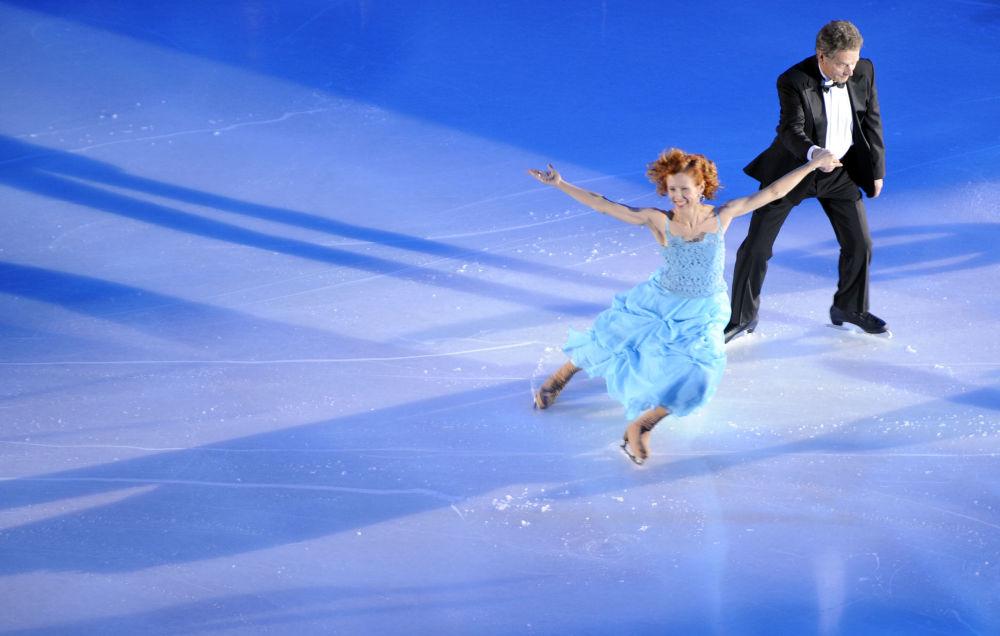 الرئيس الفنلندي على الجليد ساولي نينيستو