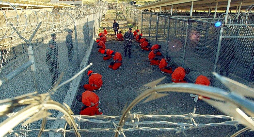 المعتقلين في سجن غوانتانامو بكوبا