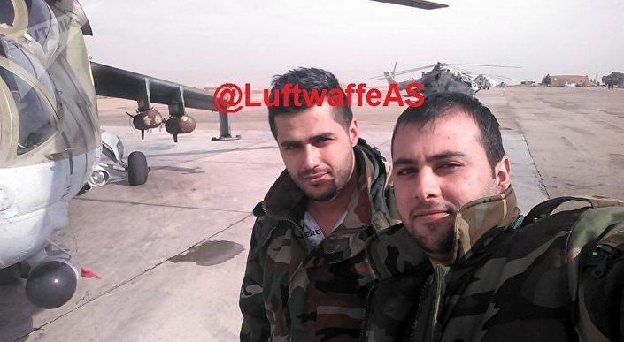 دبابة طائرة في سوريا