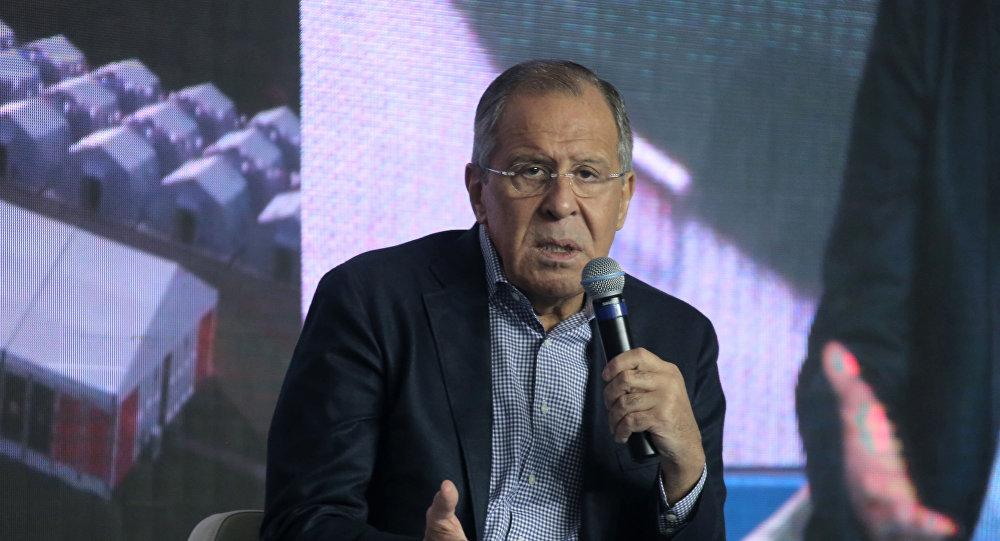 وزير الخارجية سيرغي لافروف