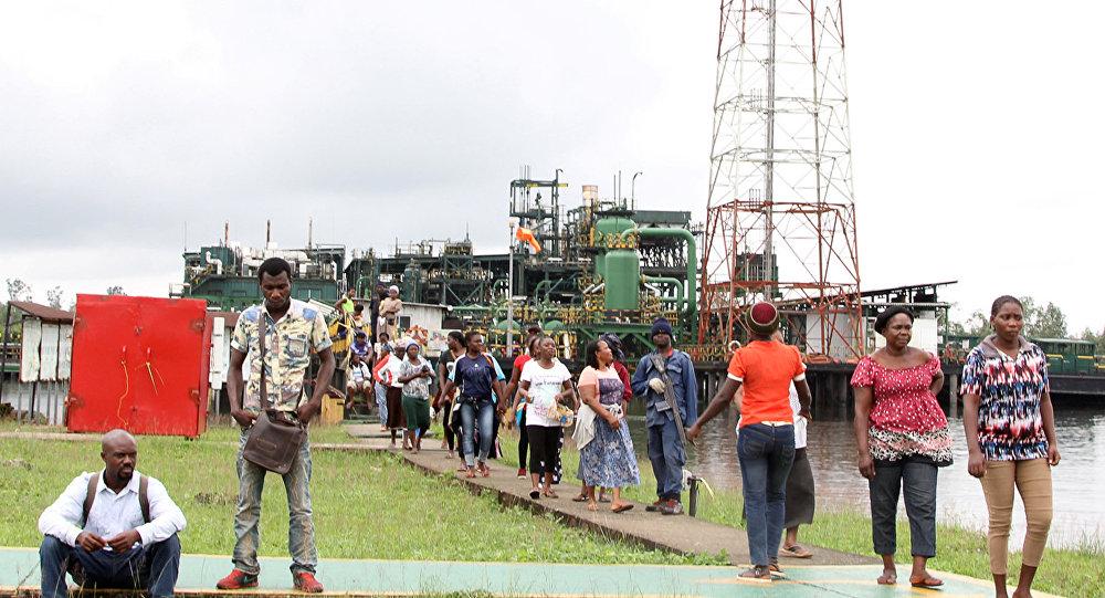 المحتجون النيجيريون يقتحمون محطة بيليما فلو في ولاية ريفرز