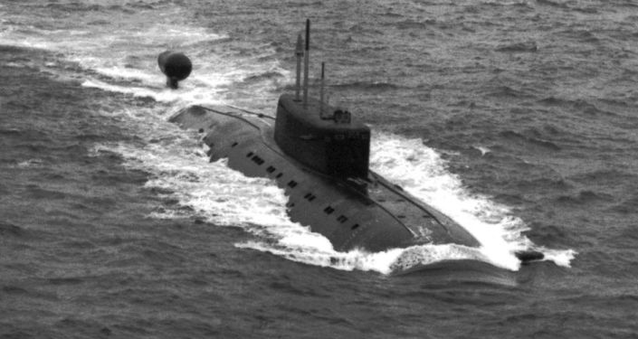 غواصة نووية روسية