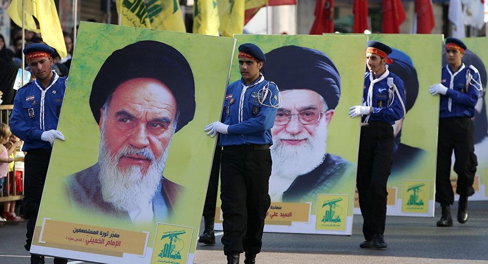 خلال مهرجان حزب الله