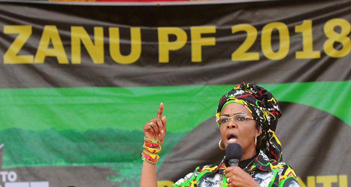 جريس موجابي سيدة زيمبابوي الأولى