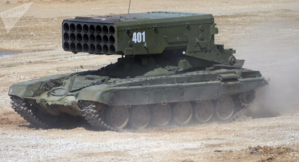 منظومة النيران تي أو إس-1أ سولنتسيبيوك