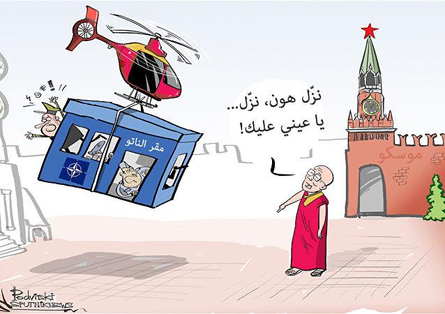 الدالاي لاما يحلم بنقل مقر الناتو إلى موسكو
