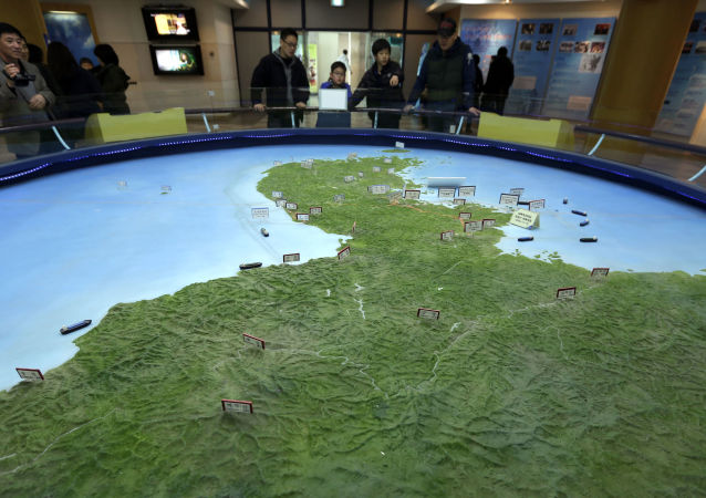 خريطة كوريا الشمالية