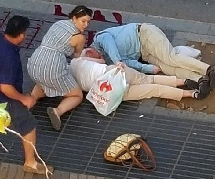 ضحايا هجوم برشلونة