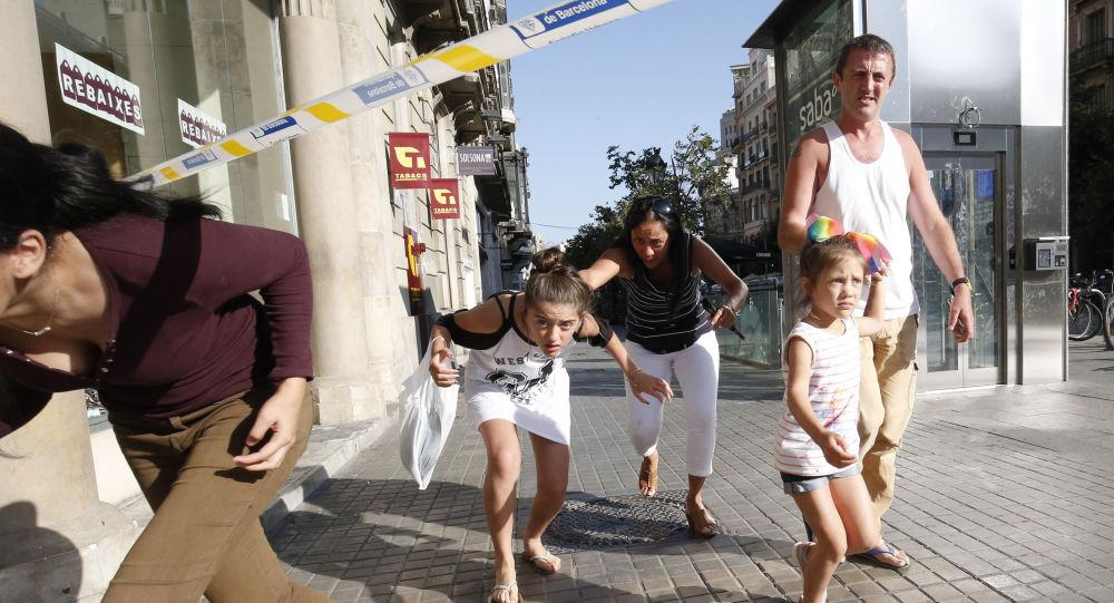 موقع دهس شاحنة حشدا في برشلونة