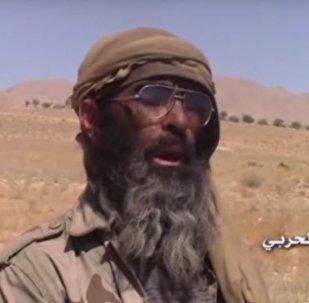 عنصر فار من تنظيم داعش الإرهابي