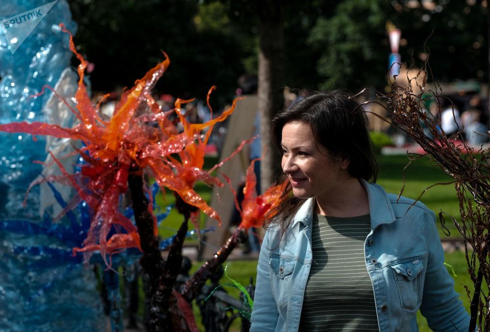 مشاركة في مهرجان الثقافة المدنية شوارع حية في وسط سانت بطرسبرغ