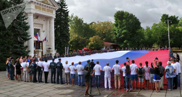 يوم العلم الوطني لروسيا في سيفاستوبل