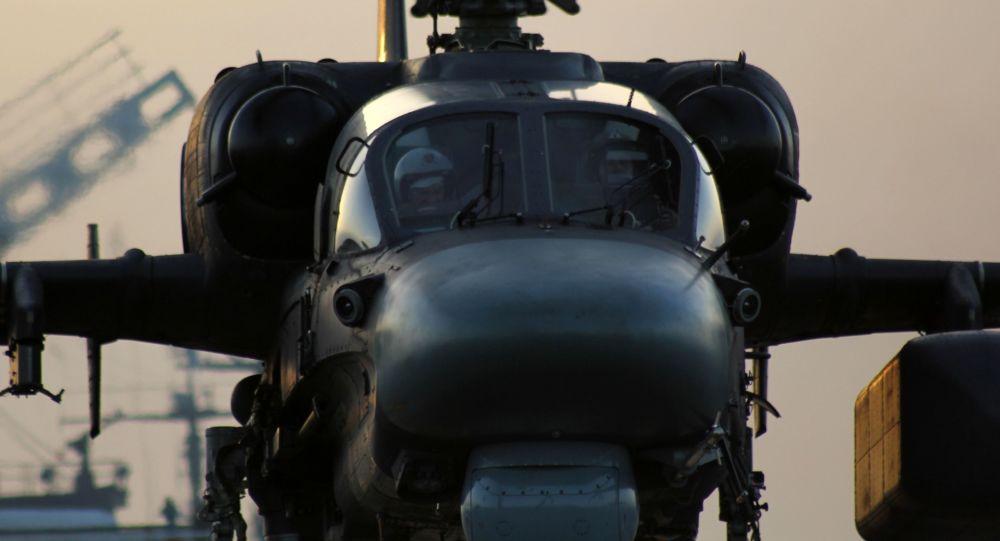 مروحية كا-52ك