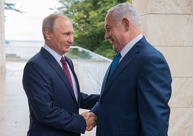 الرئيس فلاديمير بوتين يستقبل رئيس الوزراء الإسرائيلي بنيامين نتنياهو في سوتشي