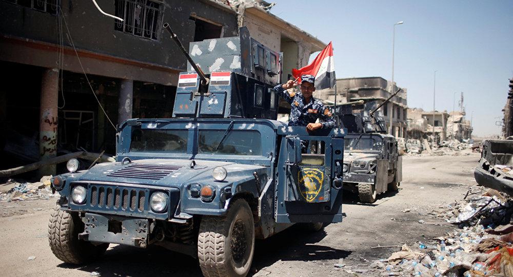 الشرطة الاتحادية العراقية في الموصل