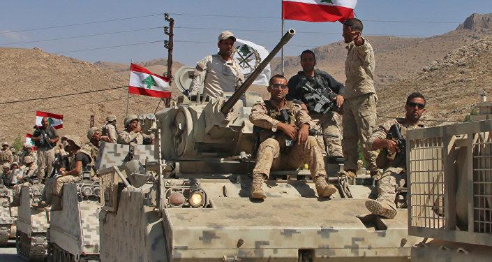 جنود من الجيش اللبناني