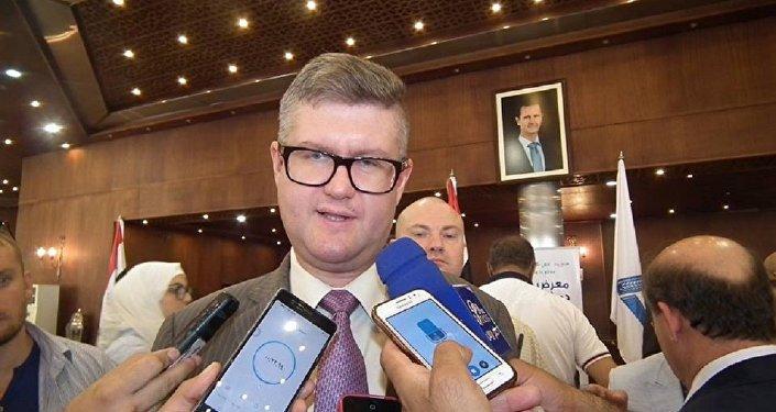 رئيس الملحقية التجارية والاقتصادية في سفارة روسيا الاتحادية بدمشق الدكتور ايغور ماتفييف