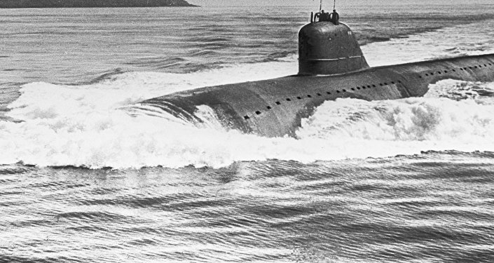 غواصة تعمل بالطاقة النووية (صورة ارشيفية)