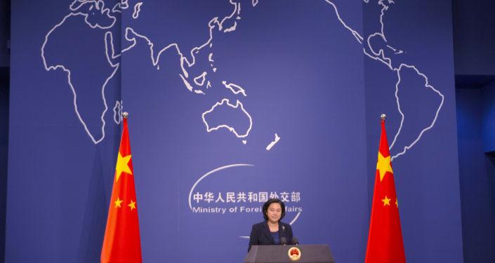 المتحدثة الرسمية باسم وزارة الخارجية لجمهورية الصين الشعبية هوا تشونينغ