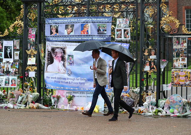 أبناء الأميرة ديانا يحيون ذكرى  وفاته والدتهم