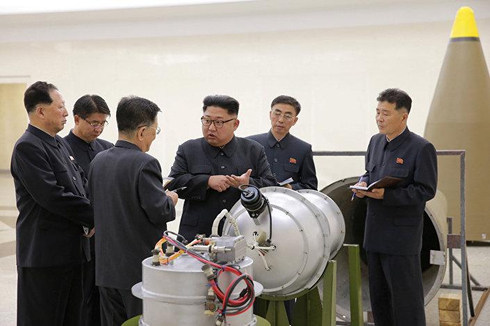 جانب من تجربة صنع القنبلة الهيدروجينية