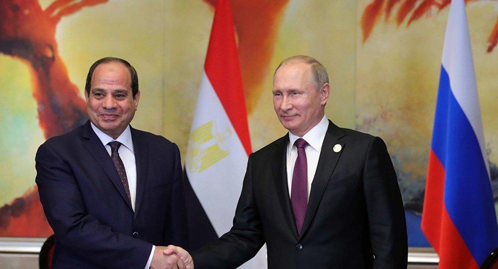 تقدم الرئيس المصري، الفتاح السيسي،
