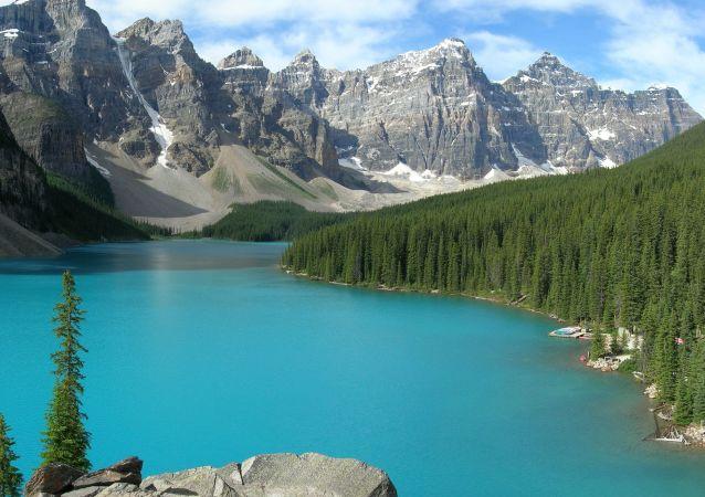 الحديقة الوطنية بانف في كندا