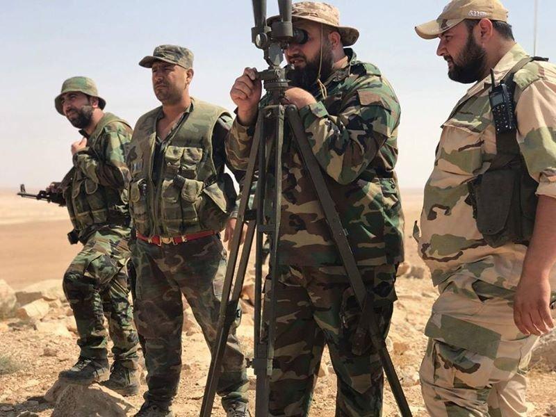 لحظة وصول القوات السورية إلى أكبر معقل لـداعش في ريف حماة