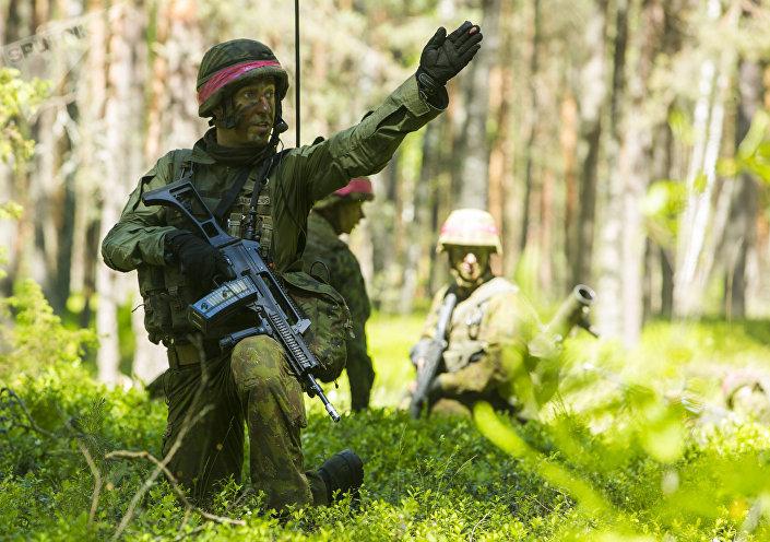الناتو ينفذ تمرينا عسكريا في ليتوانيا