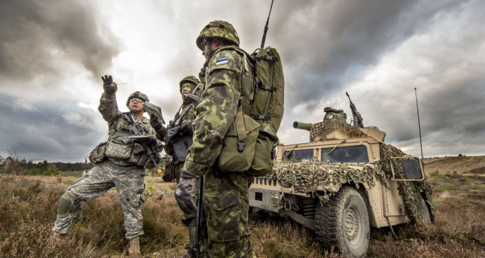 تدريب مشترك بين الجنود الأمريكيين والاستونيين