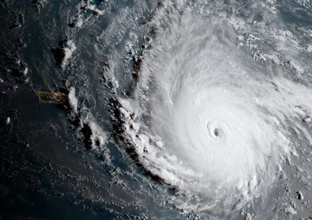إعصار إيرما، صورة من الفضاء، 5 سبتمبر/ أيلول 2017