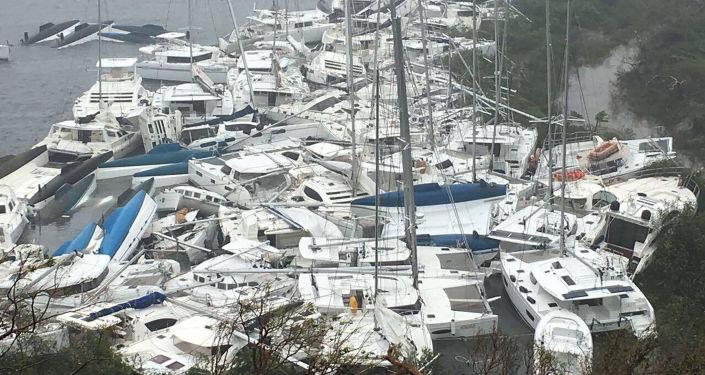 """إعصار""""إيرما"""" يهدد بمسح أمريكا 1026049108"""
