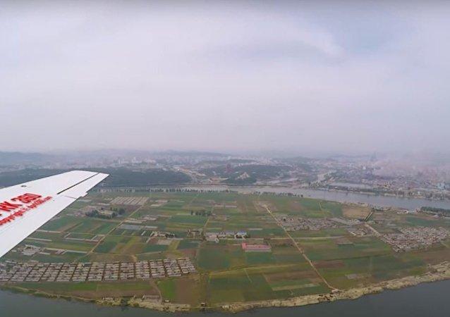 بيونغ يانغ من الجو
