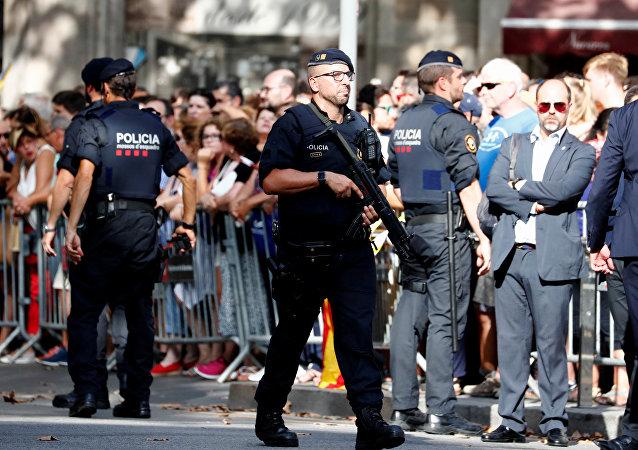 شرطة برشلونة