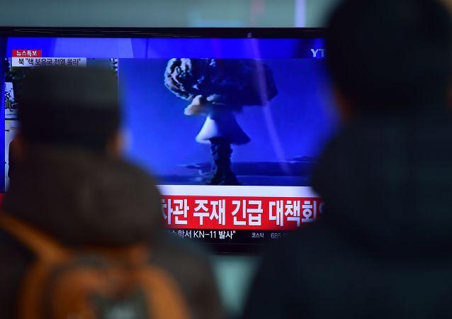 تجربة سلاح نووي لكوريا الشمالية