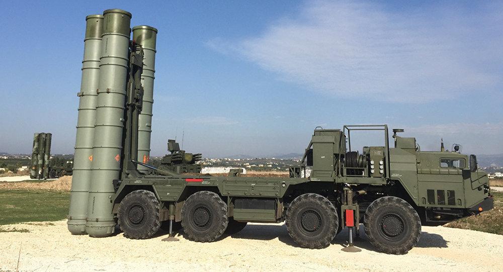 منظومة إس -400 في قاعدة حميميم بسوريا