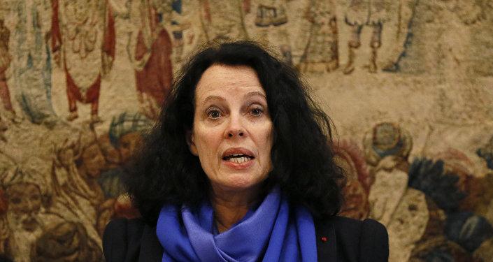 السفيرة الفرنسية لدى روسيا  سيلفي بيرمان