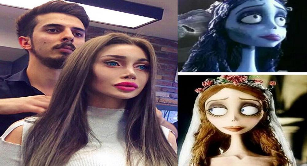 سويدية تتحول إلى أميرة من أميرات الكرتون