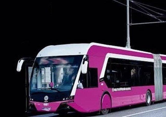 حافلات للنساء في تركيا
