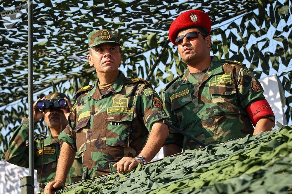 مناورات حماة الصداقة المشتركة بين روسيا ومصر