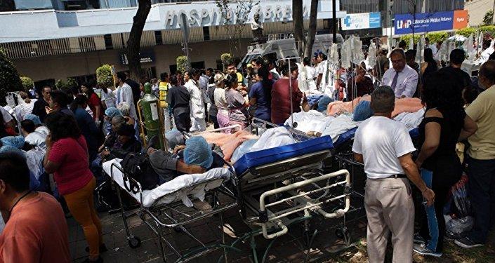 مطار المكسيك الدولي بعد الزلزال