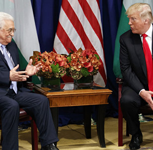 اجتماع الرئيس الفلسطيني محمود عباس مع نظيره الأمريكي دونالد ترامب في البيت الأبيض، الولايات المتحدة 20 سبتمبر/ أيلول 2017