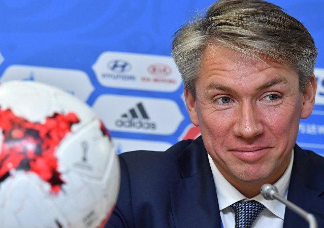 أليكسي سوروكين الرئيس التنفيذي للجنة المنظمة لمونديال روسيا 2018